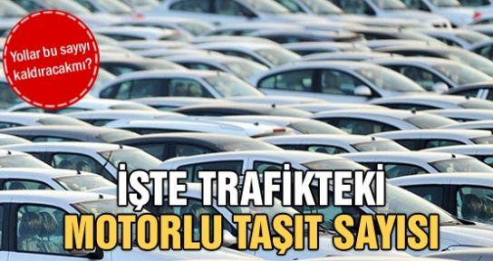 Trafiğe kayıtlı araç sayısı Temmuz ayı sonu itibarıyla 18 453 287 oldu