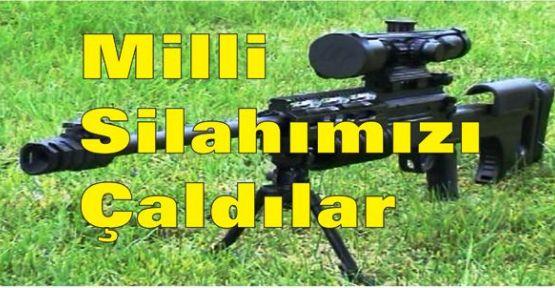 Türk keskin nişancı tüfeği Fransa'da çalındı