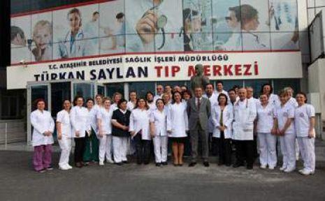Türkan Saylan Tıp Merkezi Ataşehirlilerin Hizmetinde
