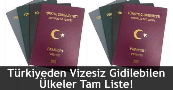 Türkiye'ye Vize Uygulamayan Ülkeler Hangileri?