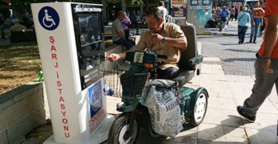 Üsküdar Belediyesinden Engellilere büyük hizmet