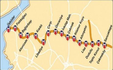 Üsküdar-Sancaktepe metrosunda son durum