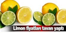 Limon fiyatı tavan yaptı