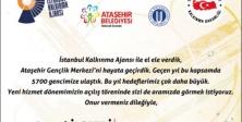 Ataşehir Gençlik Merkezi yeni hizmet dönemi açılıyor