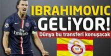 İbrahimovic 6 Ağustos'ta İstanbul'a Geliyor