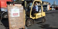 Ataşehir Belediyesin'den Hopa'ya yardım eli