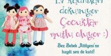 """Ataşehir'de """"Bez Bebek Atölyesi"""" başlıyor"""