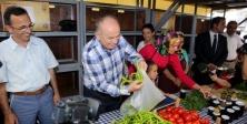 Başkan Topbaş Şile'de 'Yeryüzü Pazarı' açtı