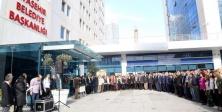 Kaybedilen canlar için Ataşehir Belediyesin'de tören düzenlendi