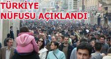 Türkiye nüfusu 77 milyon 695 bin 904 kişi oldu