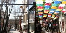 Şemsiye Sokak'taki Şemsiyeler kaldırıldı