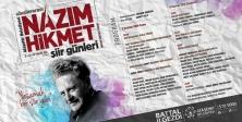 """""""Ataşehir Belediyesi Uluslararası Nazım Hikmet Şiir Günleri"""" başlıyor"""