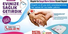 Ataşehir Belediyesinden Evde Sağlık ve Sosyal Destek Hizmetleri