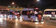 İstanbul'da minibüsçülerden 15 Temmuz protestosu
