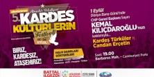 """Ataşehir'de """"Kardeş Kültürlerin Festivali"""" başlıyor"""