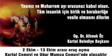 KARTAL BELEDİYESİ'NDEN MUHARREM AYI İFTAR YEMEĞİ