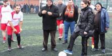 ÇORDEF Futbol Turnuvasının Başlama Vuruşunu Neslihan YURTDAGÜL Yaptı