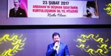 Ardahan'ın Kurtuluşu Ataşehir'de kutlandı