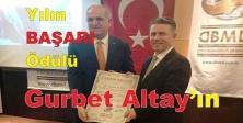 Yılın BAŞARI Ödülü Gurbet Altay'ın