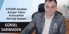AYEDER Başkanı Gürsel SARIMADEN Bayram Mesajı yayımladı