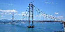 Osmangazi Köprüsü'nde tatilci yoğunluğu