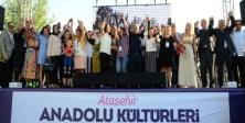 ATAŞEHİR ANADOLU KÜLTÜRLERİ DAYANIŞMA FESTİVALİ BAŞLADI