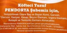 KÖFTECİ YUSUY'A 50 KİŞİ ALINACAKTIR