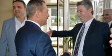 Kdz. Ereğli Belediye Başkanı Başkan Uysal, platform üyelerini ağırladı