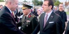 Cumhurbaşkanı Recep Tayyip Erdoğan'ı havalimanında İmamoğlu karşıladı