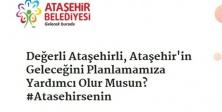 SEN DE KATIL, ATAŞEHİR'İN GELECEĞİNİ PLANLA!