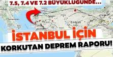 Kandilli'den son deprem senaryosu