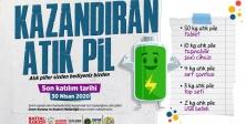 ATIK PİLLER ATAŞEHİR'DE KAZANDIRIYOR