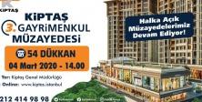 'KİPTAŞ 3. GAYRİMENKUL MÜZAYEDESİ' 4 MART'TA DÜZENLENİYOR