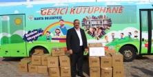 Ataşehir Belediyesi'nden Kahta Belediyesi'ne kitap desteği