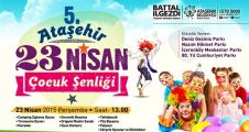 23 Nisan Çocuk Şenliği Ataşehir'de parklarda kutlanacak