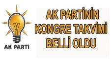 AK Parti İlçe Kongre tarihleri belli oldu