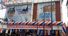 AK Parti Ataşehir SKM hizmete açıldı.