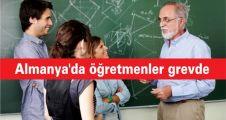 Almanya'da öğretmenler grevde