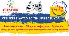 Ataşehir'de Yetişkin Tiyatrosu Eğitimi başlıyor