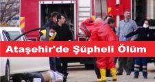 Ataşehir'deBilgisayar mühendisi ölü bulundu