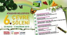 Ataşehir Belediyesi 6. Çevre Şöleni Başlıyor