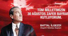 Battal İlgezdi'nin 30 Ağustos Mesajı