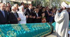 Ekrem Erdem'in babasının cenazesi toprağa verildi