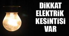 Bu İlçelerde Elektrik Kesinntisi Yapılacaktır