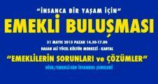 """""""EMEKLİLERİN İSTANBUL BULUŞMASI """"SESSİZ ÇIĞLIK"""