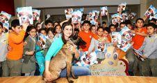 Ataşehir'de Çocuklar Felix ile dost oldular