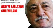 Fethullah Gülen'in ABD'de Yayınlanan gazete ilanı