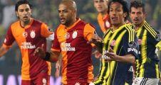Galatasaray , Fenerbahçe'de 11'ler belli oldu