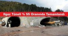 Ilgaz Tüneli %55 Oranında Tamamlandı