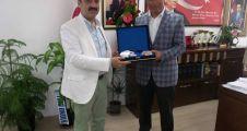 İrfan Dinç, Çerkeş Belediyesini Ziyaret etti